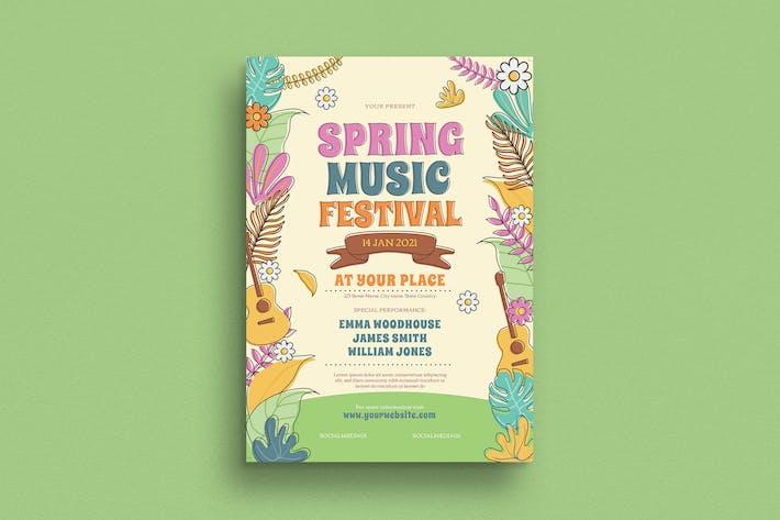 Thumbnail for Prospectus de musique de printemps