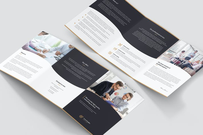 Thumbnail for Brochure – Business Consulting Tri-Fold A5