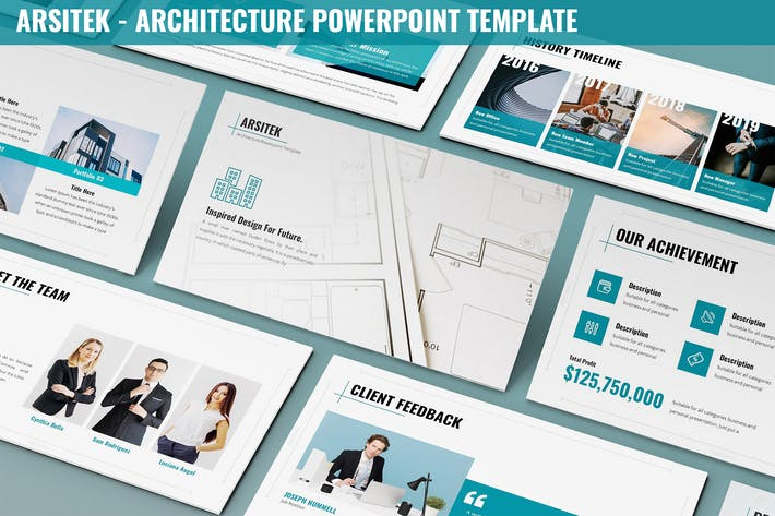 Thumbnail for Arsitek - Architecture Powerpoint Template