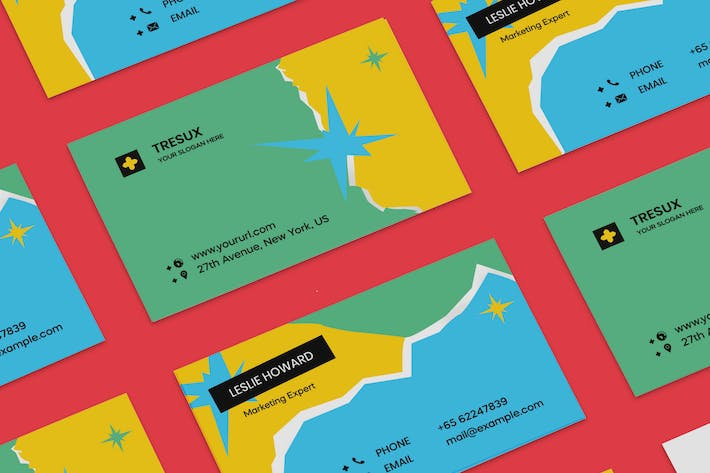 Thumbnail for Kids Business Card PSD Template