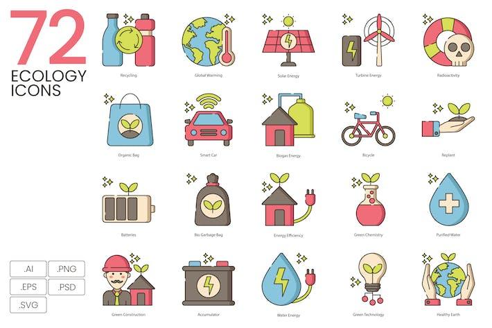 72 Ecology Icons
