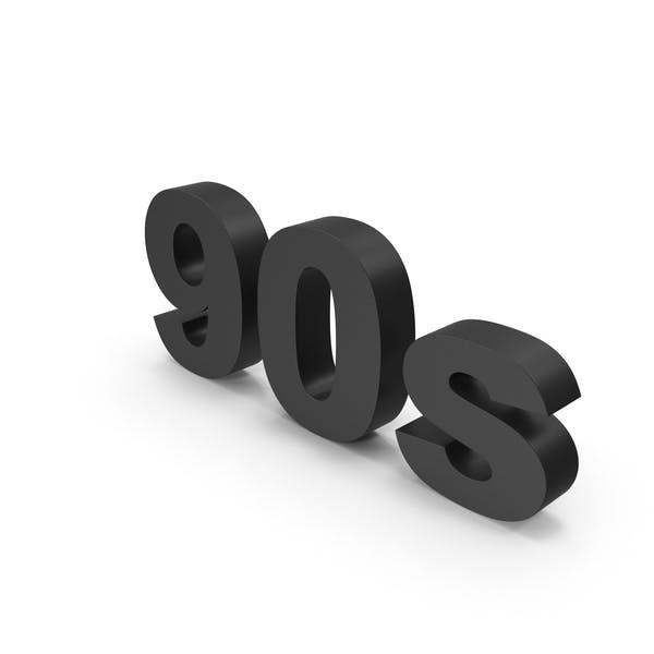 Schwarz 90er Jahre