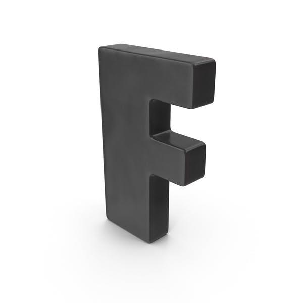 Cover Image for Letter F Fridge Magnet