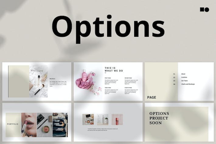 Cover Image For Варианты — Powerpoint