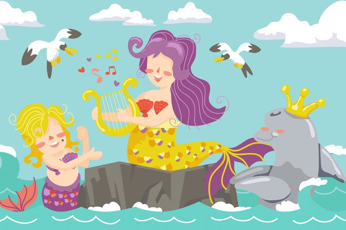 Thumbnail for Mermaid Illustration