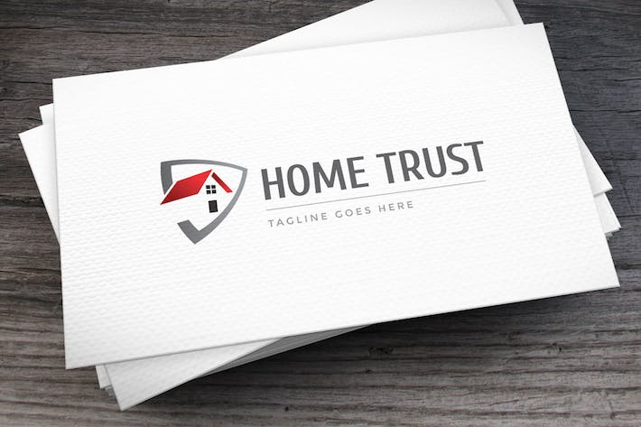 Thumbnail for Home Trust Logo Template