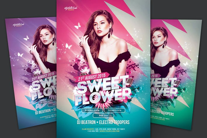 Thumbnail for Sweet Flower Flyer