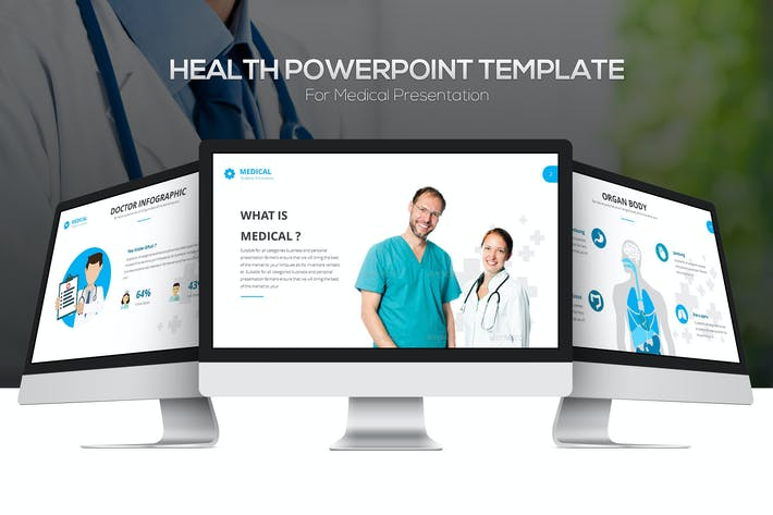 Thumbnail for Health Powerpoint Template