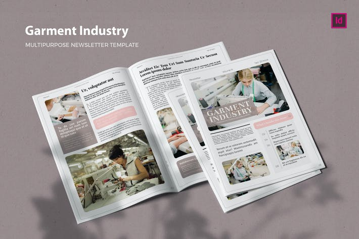 Thumbnail for Garment Industry - Newsletter Template