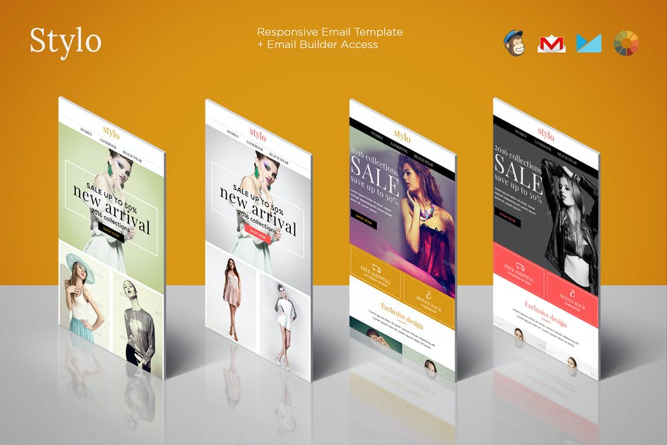 Download Stylo - Ecommerce Newsletter + Builder Access by eeemon