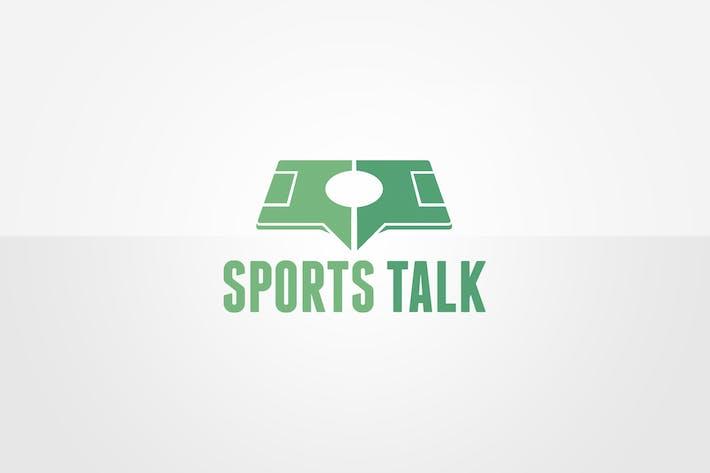 Thumbnail for Шаблон логотипа Sport Talk