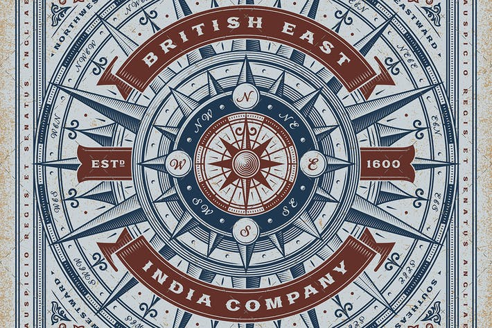 Thumbnail for Vintage British East India Company Typography