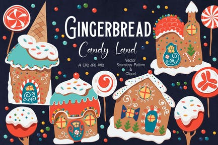 Gingerbread Candy Land