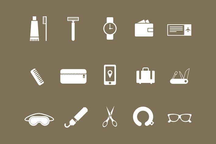 Thumbnail for 15 Travel Kit Icons