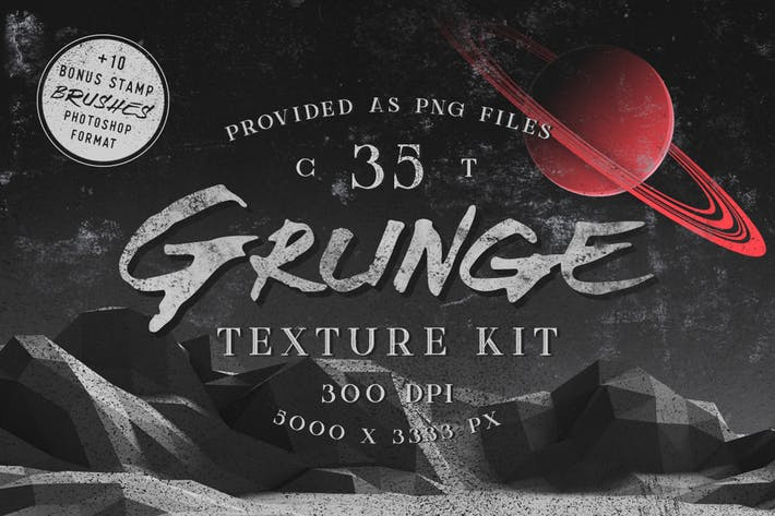 Thumbnail for Grunge Textures Kit
