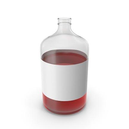 Botella Con Líquido