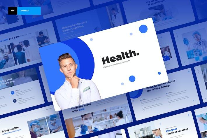 Здоровье - Медицинская Keynote презентация