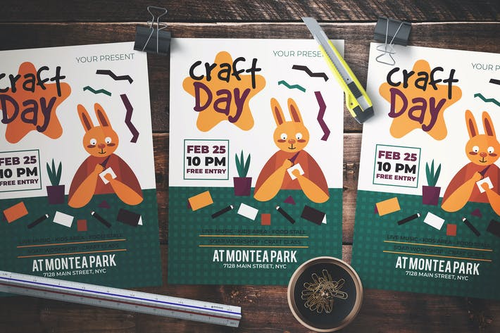 Thumbnail for Craft Day Flyer