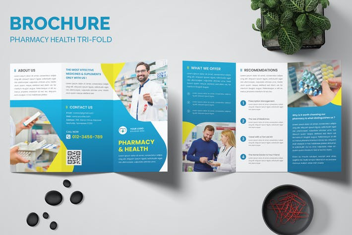 Thumbnail for Pharmacy Health Trifold Brochure