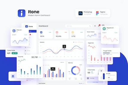 Itone - Modern and Dynamic Admin Dashboard