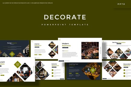 Decorate - Powerpoint Template