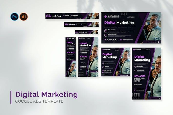 Digital Marketing - Google Ads Design Template