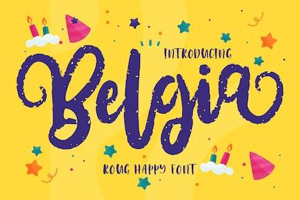 Belgia | Decorative Happy Font