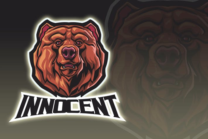 Thumbnail for Innocent Bear Esport Logo