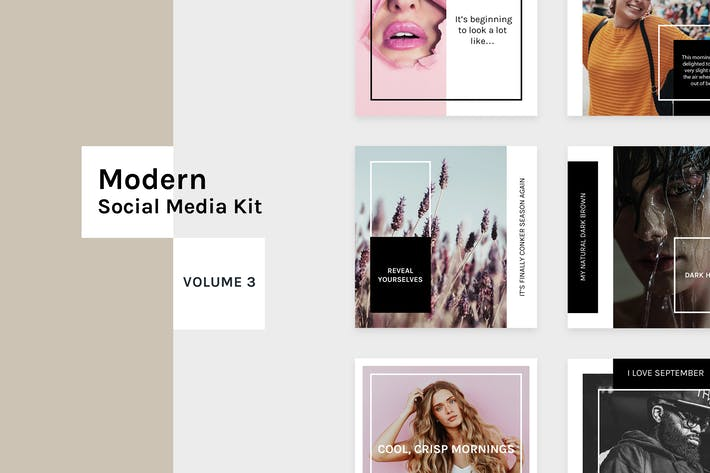 Thumbnail for Modern Social Media Kit (Vol. 3)