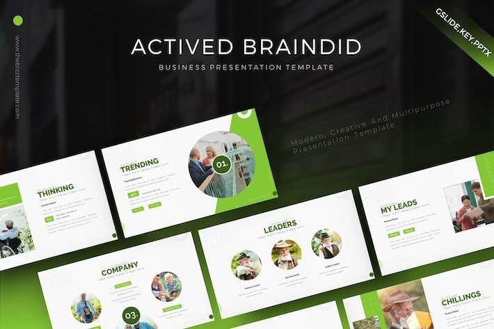 Actived Braindid Presentation Template