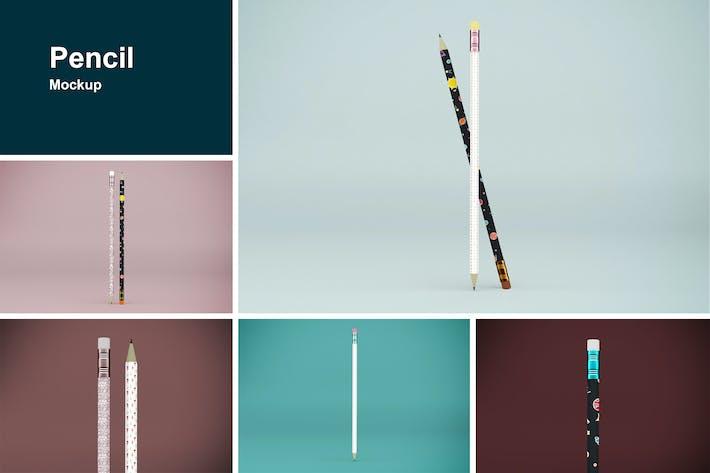 Thumbnail for Pencil Mockup