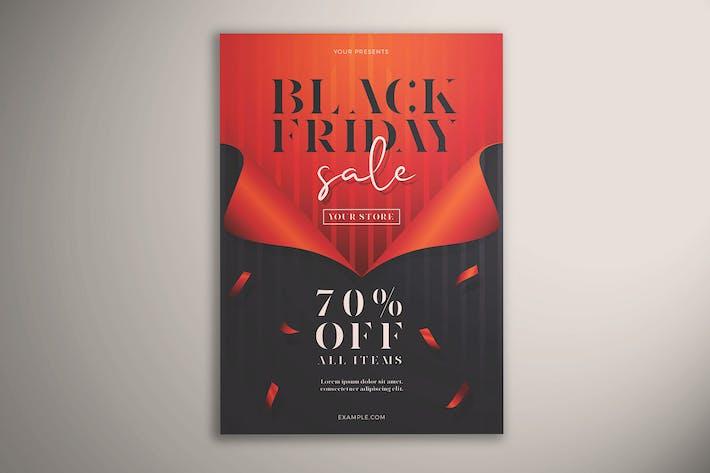 Thumbnail for Black Friday Sale Flyer Vol.01