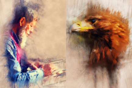 ModernArt2 Photoshop Action