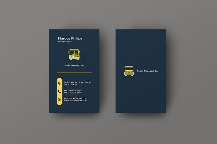 Thumbnail for Vertical Business Card Transport