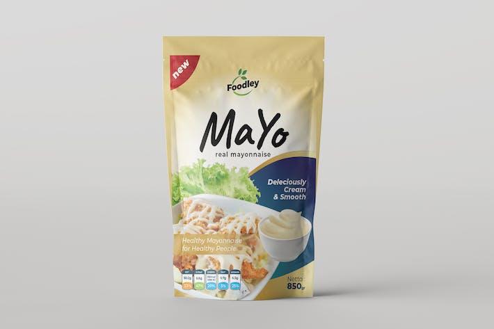 Mayonnaise Pouch Design