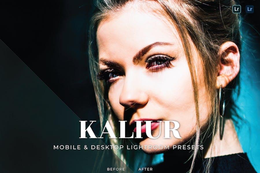 Kaliur Mobile and Desktop Lightroom Presets