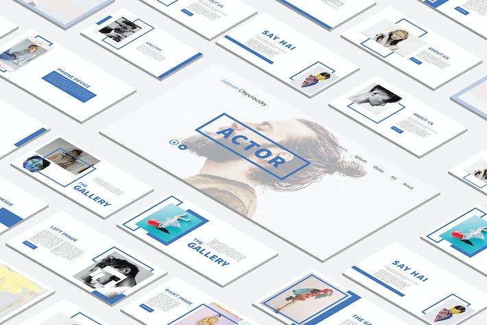 Thumbnail for Minimal Modern Powerpoint Template
