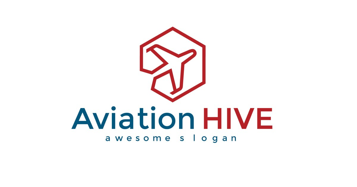 Download Aviation Hive Logo Template by hoanglam1607