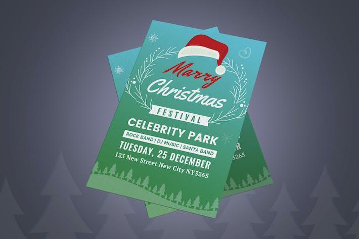 Thumbnail for Christmas Festival Flyer