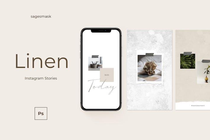 Thumbnail for Linen Instagram Stories