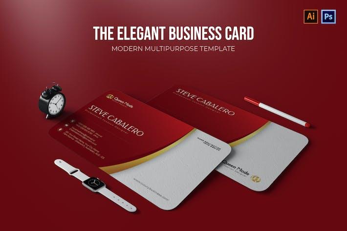 Elegant - Business Card