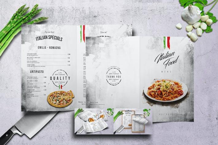 Thumbnail for Italian Food Menu Bundle V2