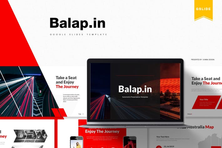 Thumbnail for Balapin | Google Slides Template