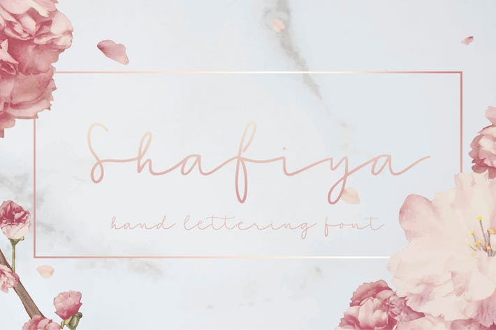Thumbnail for Shafiya - Letra de letra a mano