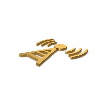 Gold Symbol Antenna