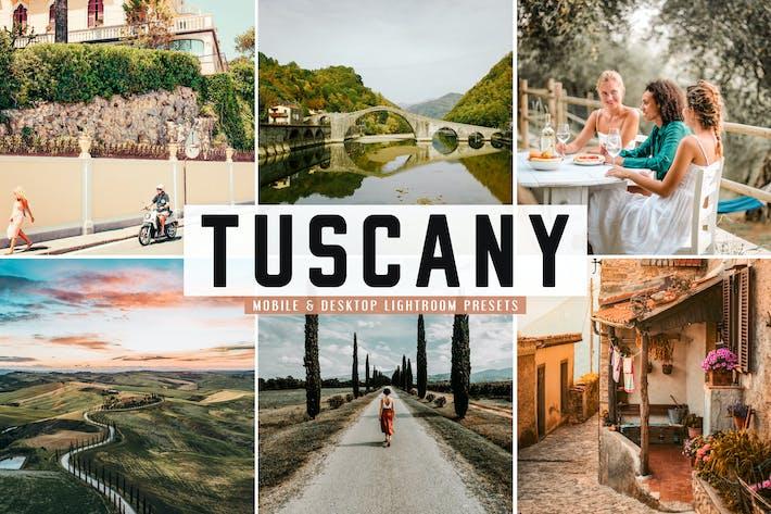 Thumbnail for Tuscany Mobile & Desktop Lightroom Presets
