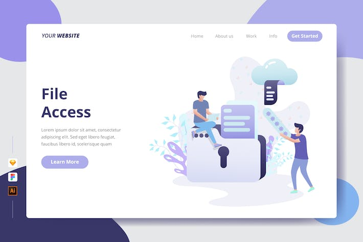 Thumbnail for File Access - Landing Page