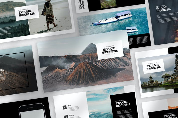 Thumbnail for Explore Indonesia Keynote Template