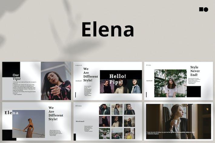 Thumbnail for Елена - Keynote