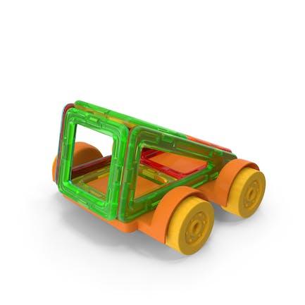 Магнитный дизайнер игрушечный автомобиль